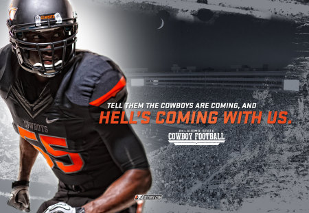Oklahoma State Cowboys Football Sports Background