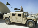 Humvee with .50cal hb machinegun