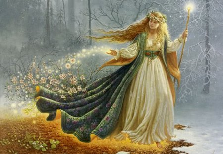 Freyja - freyja, godess, norse mythology, fertility