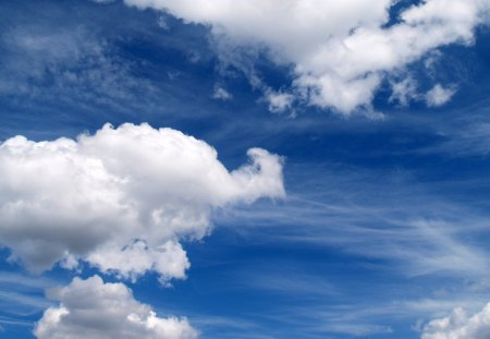 clouds - amazing, sky, clouds, photography, nice, cool, awesome, nature, white, blue