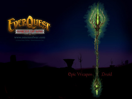EverQuest Omens of War - everquest, epic weapon, itread, druid