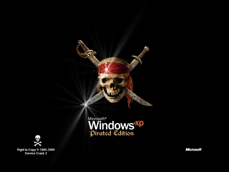 Windows XP - Pirated Edition - pirated edition, micr, pitated edicion, pirated, windows, windows xp, microsoft