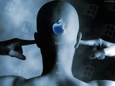 Apple - Listen To Your Head - listen to your head, head, apple