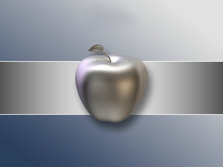 Macintosh - 3d apple, macintosh