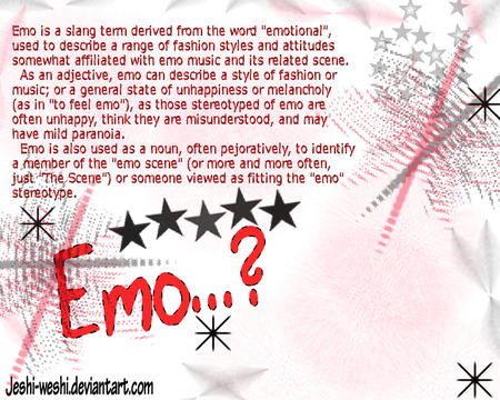 emo Definition - definition, emo, dictionary