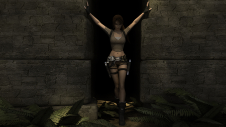 Tomb Raider Legend - croft, lara, legend, tomb raider, lara croftt