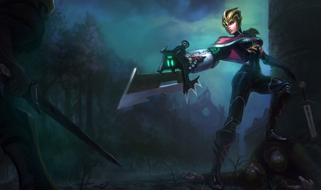 League of Legends - Riven - riot, league, legends, riven