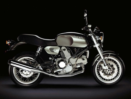 For a gentleman (for Jerry46) - pic, image, background, black, motorbike, ducati, silver, motorcycle, picture, moto, bike
