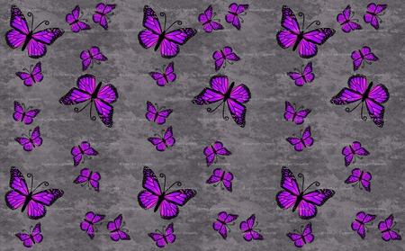 Purple prints butterflies animals background for Purple and grey wallpaper
