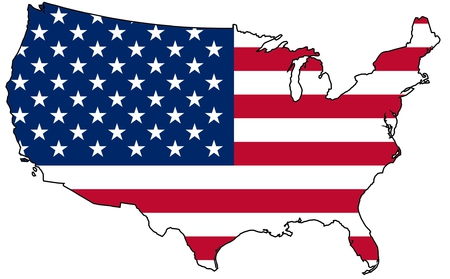 United States Flag Map Other Abstract Background Wallpapers On
