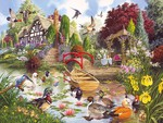 ENCHANTED GARDEN PUZZLE