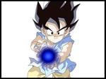 Kid Goku GT kamehameha