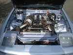 1JZ-GTE Single Turbo Engine in '87 Supra