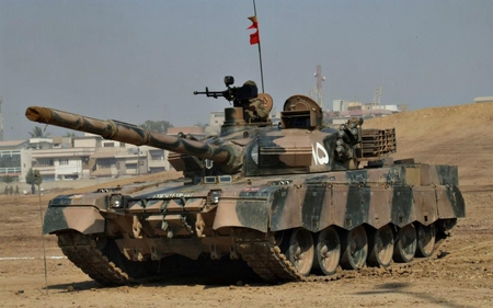Al Khalid Main Battle Tank Military Aircraft Background