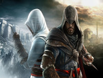 Altair and Ezio back to back