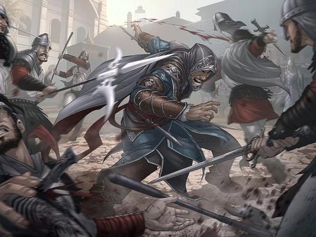 revelations battle scene Anime Fight Scene Background