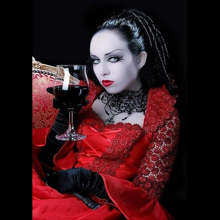 Witchy wine - witch, red, wine, hot, lips, sexy
