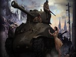M4 SHERMAN TANK WALLPAPER