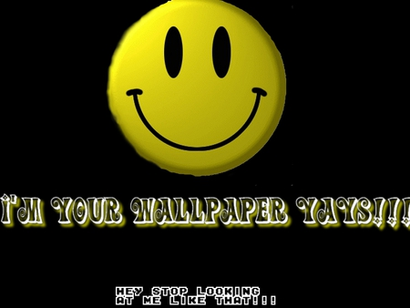 Smiley'sMessage - akon, michaeljackson, smiley, fun, smile, rwj, wall, myauntsdaughters, crazy, wallpaper, funny, paper, hhhhhhhhh