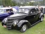 Ford 1938 at the Radium Hot Springs car show 19