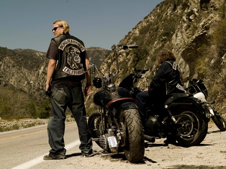 Sons Of Anarchy Other Motorcycles Background Wallpapers