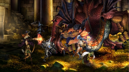 Dragons Crown - ps3, videogames, dragons crown, vita