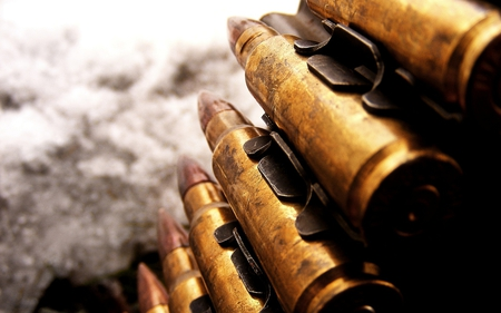 Bullets - cool, photography, bullet, nice, awesome, abstract, photo