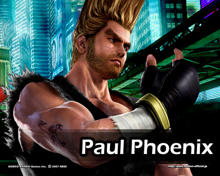 Paul By Xxxczarxxx Tekken Anime Background Wallpapers On Desktop Nexus Image 81458
