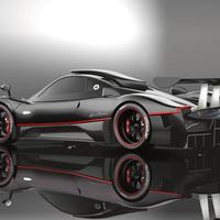Pagani Zonda R Naked Carbon Fiber