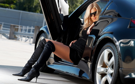 Hot Girls In Boots