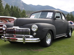 Mercury Black Velvet 1946 in Radium Hot Springs car show 25