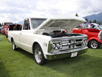 GMC truck in Radium Hot Springs car show 30