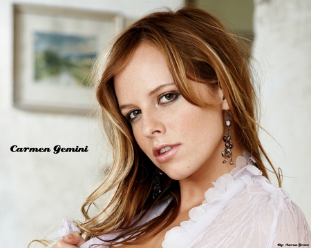 Carmen Gemini - carmen, cute, pretty, female, model, gemini