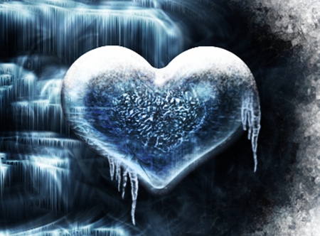 Frozen Heart - 3D and CG & Abstract Background Wallpapers ...