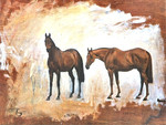 2 Thoroughbreds - Horses
