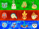 4 Pokemon Generation's