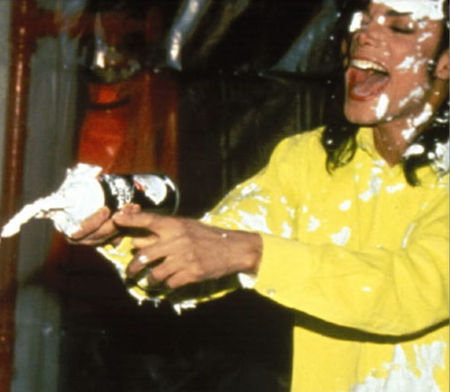 Who wants more cream ;) - michael jackson, yellow, hope, love, bright, forever, child, desert, happiness, smile, heal, understanding, happy, entertainment, fight, funny, childhood, cream