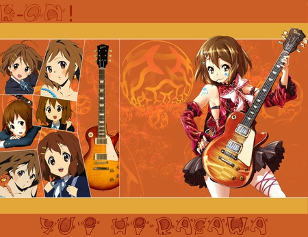 K-On - k-on, yui hirasawa, anime, music