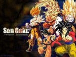 Goku the saiyan from Earth