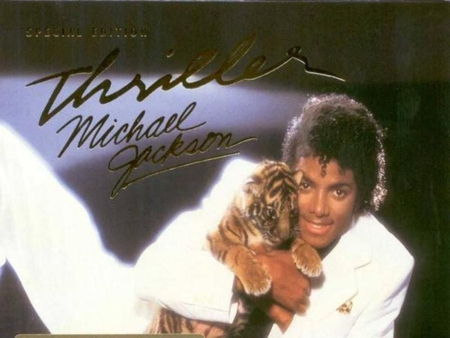 MICHAEL JACKSON - THRILLER - michael jackson, music, video, album cover, thriller, icon