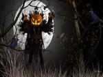 Pumpkin Monster Halloween