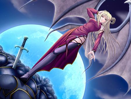 Demon princess other anime background wallpapers on desktop nexus image 818399 - Hot demon women ...