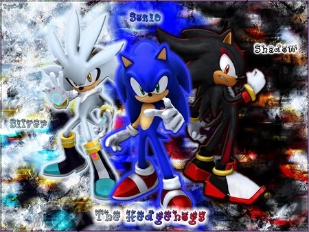 Sonic Shadow Silver The Hedgehogs Other Anime Background Wallpapers On Desktop Nexus Image 818607