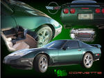 Corvette C4 Photo Collage