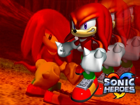Sonic Heroes: Knuckles - cool, knuckles, sonic, gamecube