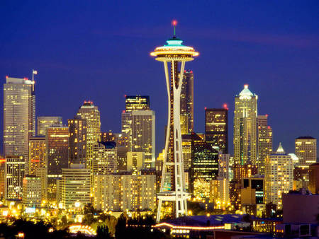Seattle, Washington (USA) - usa, seattle, city, washington, wa