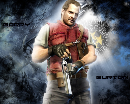 Barry Burton ~ I Have This! - Resident Evil & Video Games Background