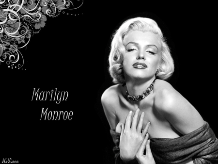 Marilyn Monroe - female, movie, 40s, film, black and white, marilyn monroe, women, fortys, golden era, 50s, goddesses of the silver screen, beauty, fifties, actresses