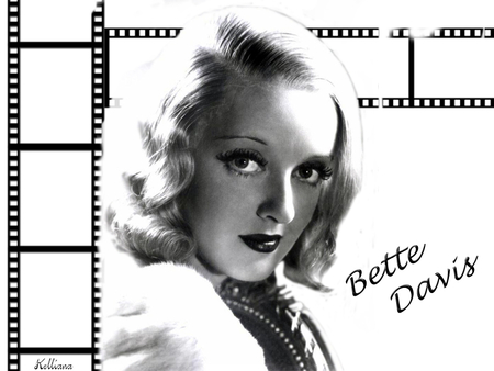 Bette Davis - female, movie, 40s, film, black and white, women, fortys, golden era, 50s, goddesses of the silver screen, beauty, bette davis, fifties, actresses
