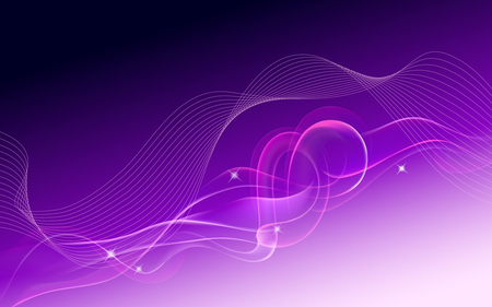 Abstract Purple Wavy and Knoty Dream - curves, sparkles, colors in motion, abstract, purple, dream, texture, knot, wavy lines